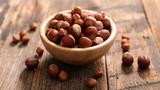bowl of hazelnut