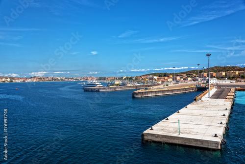 Golfo Aranci Hafen Sassari Sardinien Poster