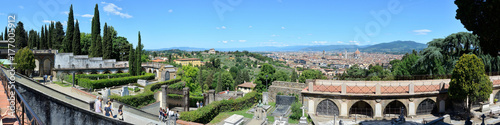 Papiers peints Florence Aerial panoramic view of Florence, Florence, Italy