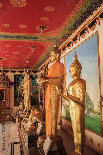Bangkok Thailand: Buddha of Wat Nak Prok temple (178/, Soi Thoet Thai 46, Khwaen Poster