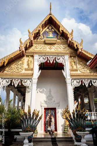 Bangkok Thailand: Wat Nak Prok temple (178/, Soi Thoet Thai 46, Khwaeng Pak Khlo Poster