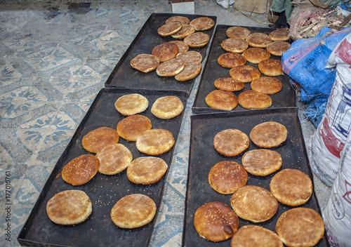 Papiers peints Maroc Fresh bread
