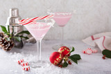Peppermint martinis for Christmas - 177018351