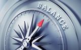 Silbergrauer Kompass - Balance - 177020765