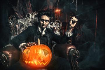halloween and vampire