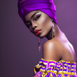 Quadro hot African Beauty