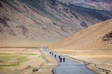 Road through Changthang plateau - 177042107