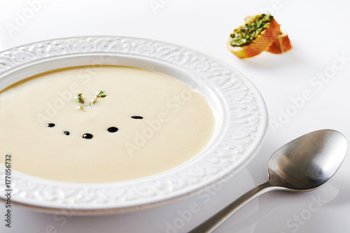 mashed potato soup - 177056732