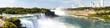 Niagara Falls, panorama, long exposure, silk water - New York, USA