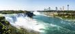 Niagara Falls Panorama - New York, USA
