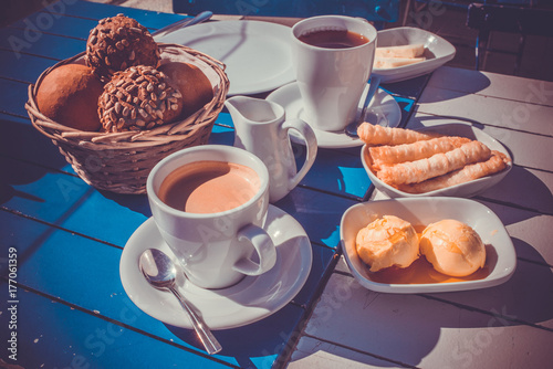 Istanbul breakfast Poster