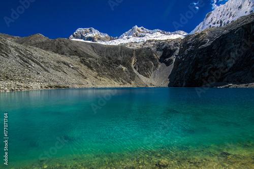 Lake Humantay, Peru.