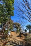 冬の堀込砦の風景 - 177071990