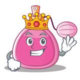 King perfume bottle character cartoon - 177076325