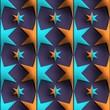 3D render  plastic background tile