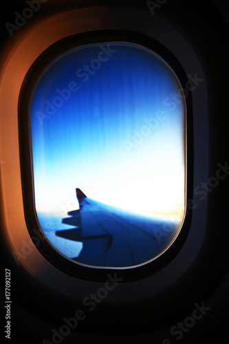view from the height of the aircraft - 177092127