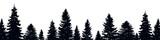 Fir Trees Wall Sticker