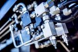 Industrial equipment close-up. Railway - 177123147