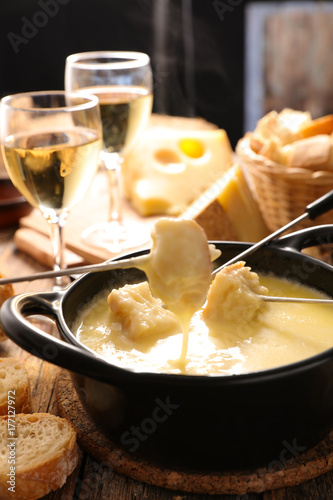 cheese fondue Poster