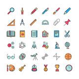 set of education icons - 177130722