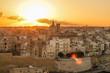 Quadro Malta Porto tramonto