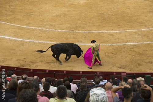stierenvechten in Valencia, Spanje