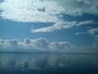 Imposante Wolkenformation über dem Chiemsee