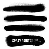 vector spray paint splatter texture. - 177156786