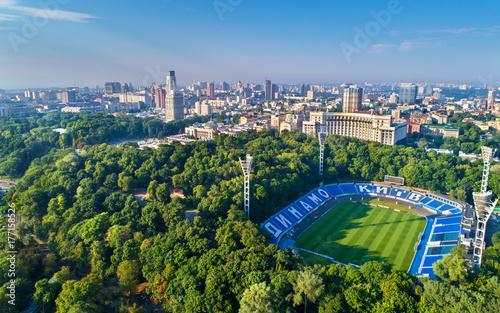 Foto op Aluminium Kiev Aerial view of Valeriy Lobanovskyi Dynamo Stadium in Kiev, Ukraine