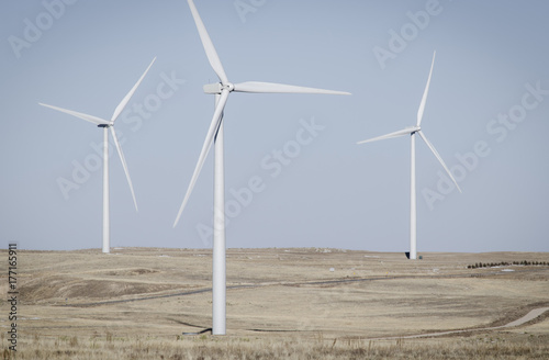 Wind Turbines in Colorado Poster