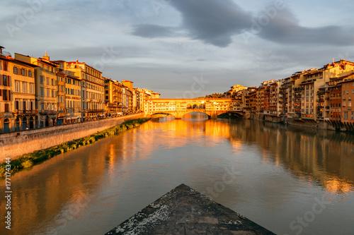 Aluminium Florence Ponte Vecchio Florence Italy