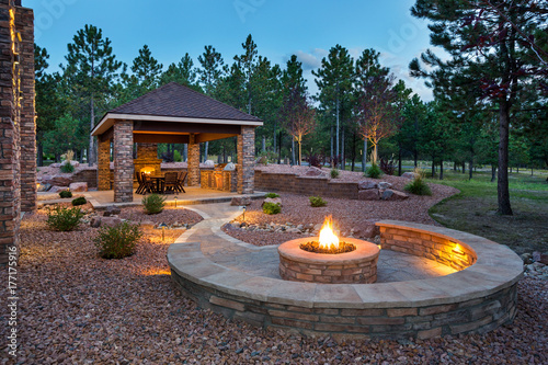 Fridge magnet Amazing Outdoor Living Space