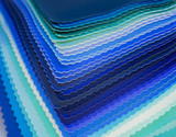 Colored fabric pieces for sewing ,blue shades - 177177193
