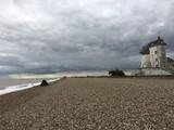 Moody Suffolk coastal scene