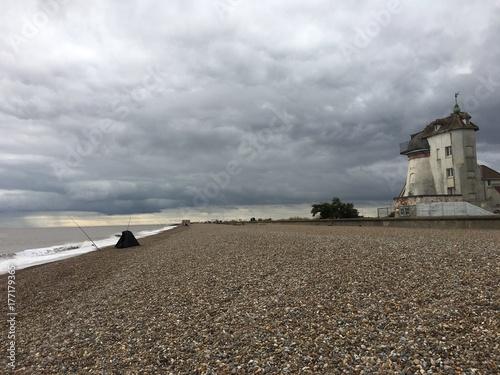Zdjęcia na płótnie, fototapety, obrazy : Moody Suffolk coastal scene
