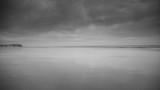 Blackpool pleasure beach black and white