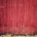 Red Barn Background - 177214543