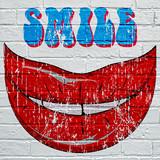 Graffiti, sourire - 177239304