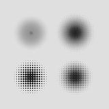 halftone circle gradient - 177246919