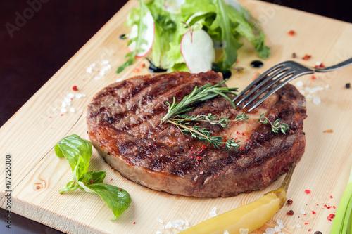 Papiers peints Steakhouse Delicious steak