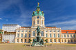 Architecture of Charlottenburg palace in Berlin, Germany