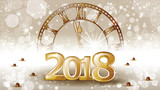 Gold Banner New Year Countdown - 177263337