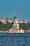 Maiden's Tower from European Side of Istanbul - 177267372