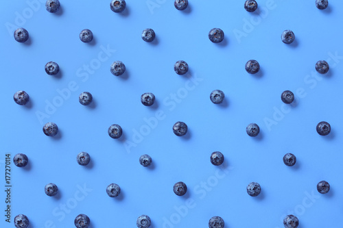 Colorful pattern of blueberries - 177270114