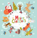 Merry Christmas! Holidays card