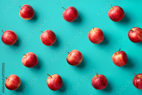 Colorful pattern of apples - 177270336