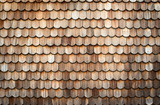 Fototapety Wooden roof