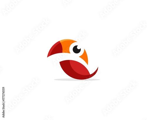 Fototapeta Parrot logo