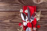 Weihnachten Menü Hintergrund - 177277747