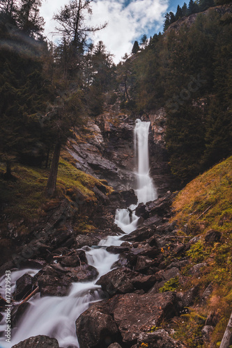 Plakat Saent Waterfall